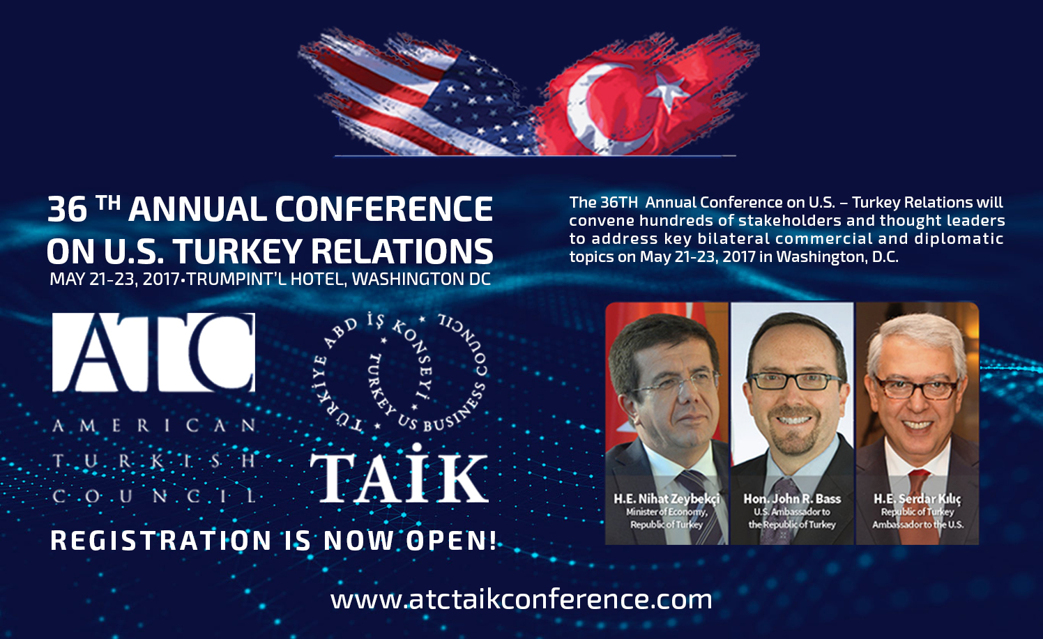 36 TH ANNUAL CONFERANCE ON U.S. TURKEY RELATIONS