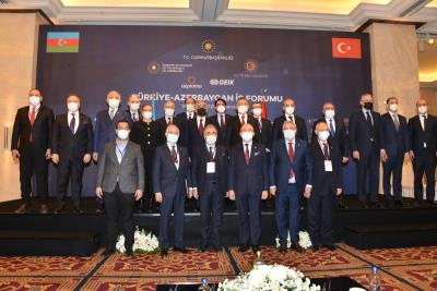 TURKEY-AZERBAIJAN BUSINESS FORUM