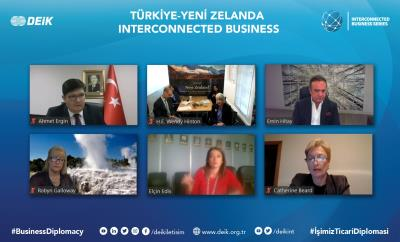 TÜRKİYE-NEW ZEALAND INTERCONNECTED BUSINESS