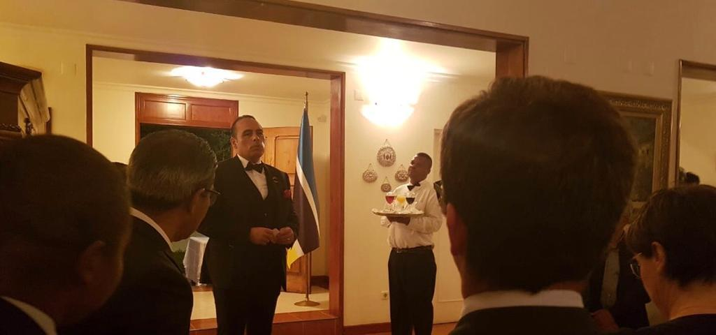 PARTICIPATION OF MR.ERHAN BARUTOĞLU, THE CHAIRMAN OF TURKEY – MOZAMBIQUE BUSINESS COUNCIL TO THE RECEPTION HOSTED BY H.E. ZEYNEP KIZILTAN, THE AMBASSADOR OF TURKEY TO MAPUTO, MOZAMBIQUE