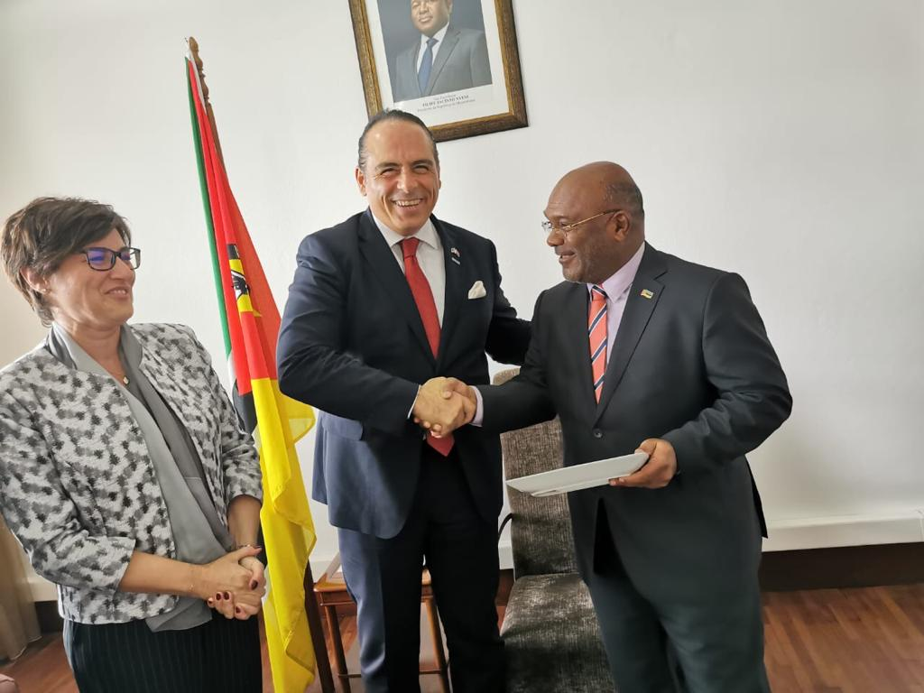 VISITS OF MR.ERHAN BARUTOĞLU, THE CHAIRMAN OF TURKEY – MOZAMBIQUE BUSINESS COUNCIL TO THE MINISTER OF TRANSPORTATION AND COMMUNICATIONS & MINISTER OF HEATH OF MOZAMBIQUE  20-21 NOVEMBER 2019, MAPUTO